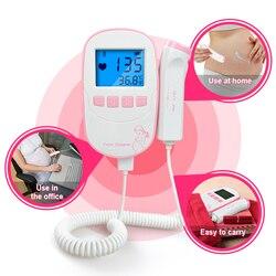 Фетальный допплер ELERA, портативный детектор сердцебиения плода, монитор сердечного ритма плода