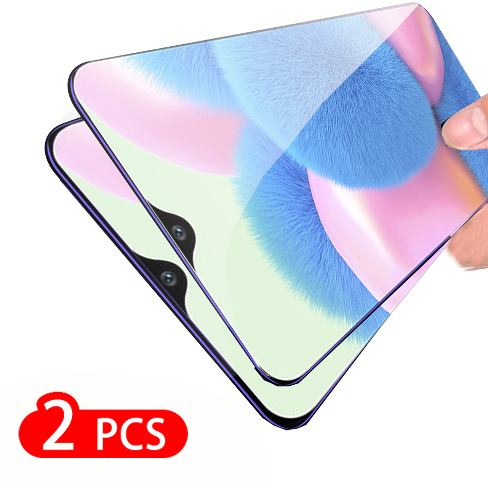 2pcs Tempered Glass For Samsung A30s Screen Protector Safety Protective Glass For Samsun Sansung Galaxy A30s A 30s SM A307 F DS