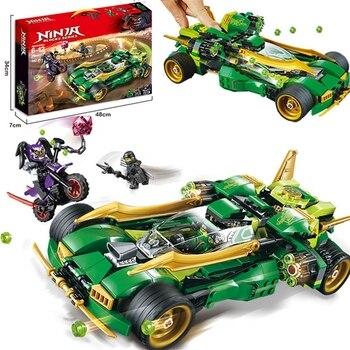 Ninjagoed-Juego de bloques de construcción modelo Ninja Lloyd Nightcrawler, juguete de construcción...