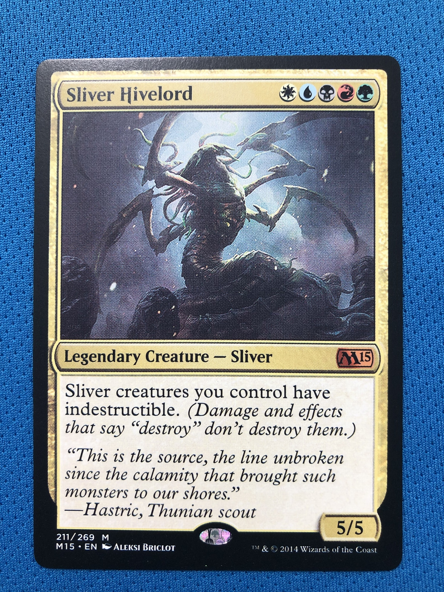 Sliver HivelordM15 Hologram Magician ProxyKing 8.0 VIP The Proxy Cards To Gathering Every Single Mg Card.