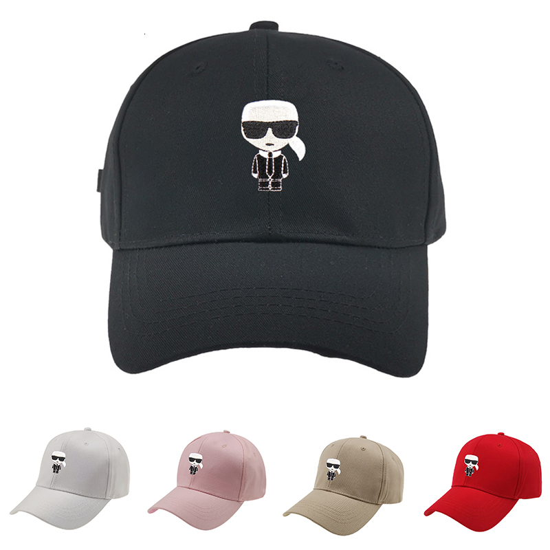 2020 High Quality Unisex Women Men   Baseball     Cap   Cartoon Embroidery Bone Snapback Hat Summer Outdoor Adjustable Hip Hop Hats Casq