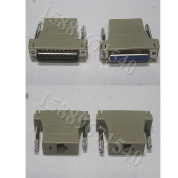 Darmowa wysyłka Pangolin Quickshow i oprogramowanie laserowe ishow przewód połączeniowy adapter RJ45 do DB25 konwerter kabel ILDA