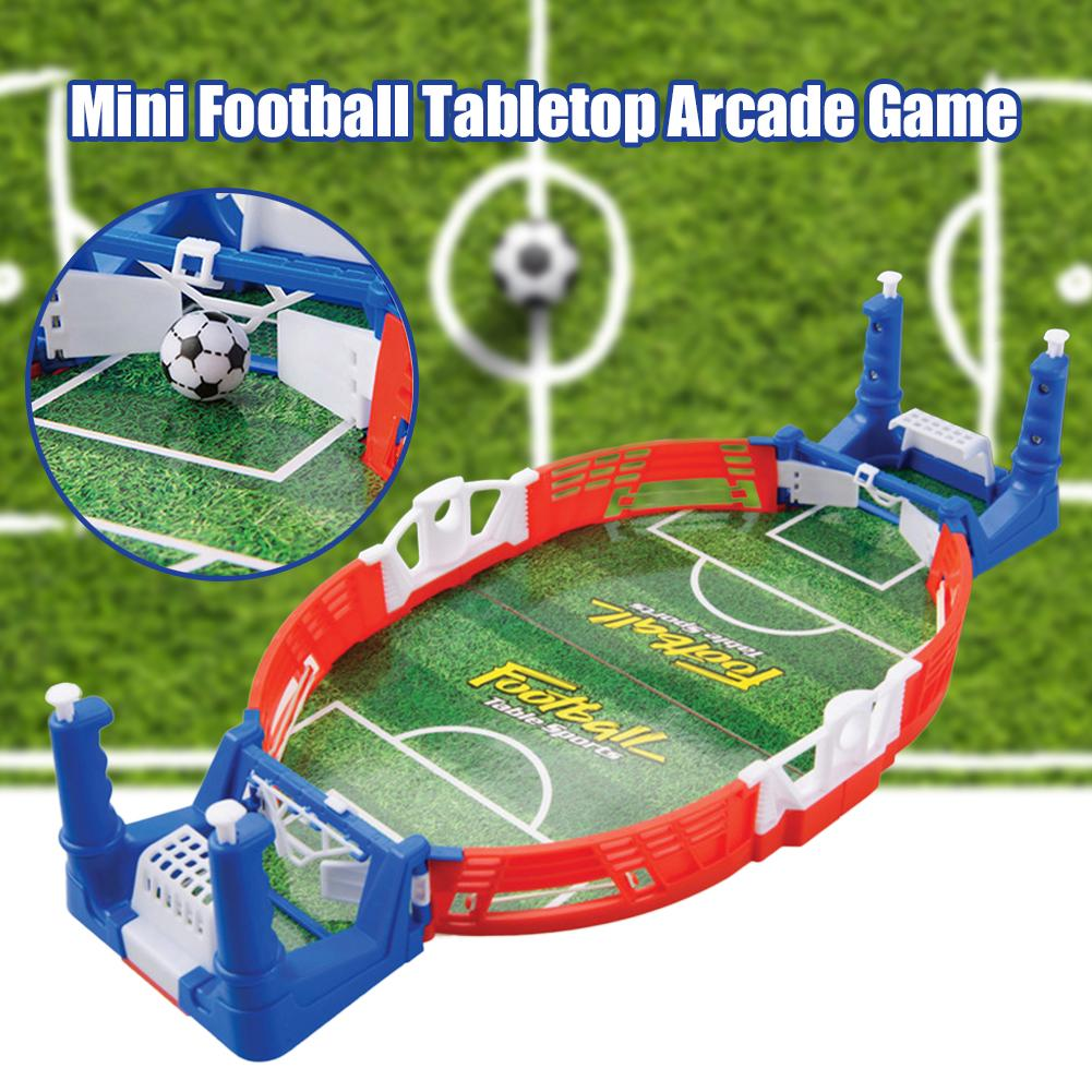 Mini Football Tabletop Arcade Game Kids Adults Table Soccer Mini Interactive Toy for Children Have Fun at Home Office image