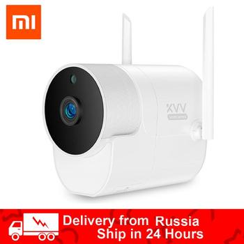 100% Original Xiaomi Xiaovv Outdoor Panoramic Camera 360 IP 1080P Surveillance Cam Wireless WIFI Night vision With Mijia APP