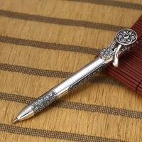 EDC 925 Silber Selbstverteidigung Überleben Sicherheits Taktische Stift Bleistift Mit Schreiben Multi funktionale EDC|Outdoor-Werkzeuge|   -
