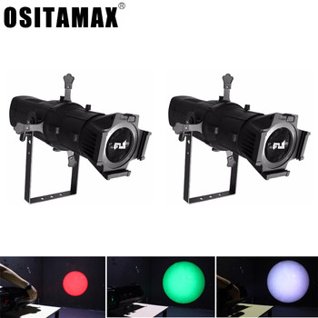 2PCS/LOT LED Theater Profile Light COB 200W/300W WW/CW/2IN1/3IN1/4IN1 Stage Lighting Effect Leko Spotlight for Show Video Photo фото
