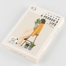 A75-One life paper открытка(1 упаковка = 30 штук