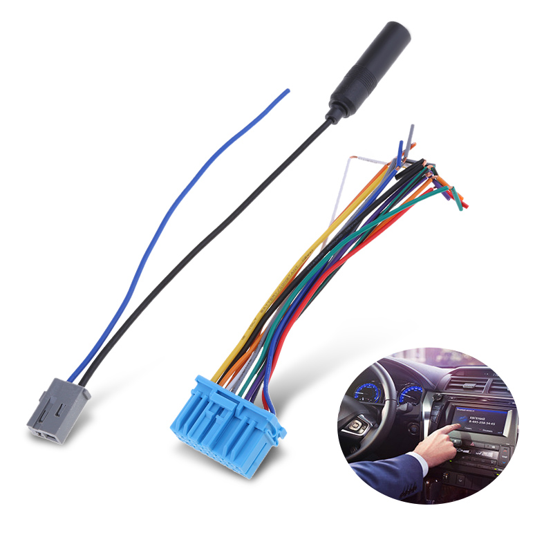 Audio Car Stereo Wiring Harness Plastic Radio Antenna cable autoradio antenna socket for Honda for Suzuki for Haima for Mazda