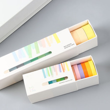 Hand account tape 12 roll set basic color and paper hand material gift package Japanese