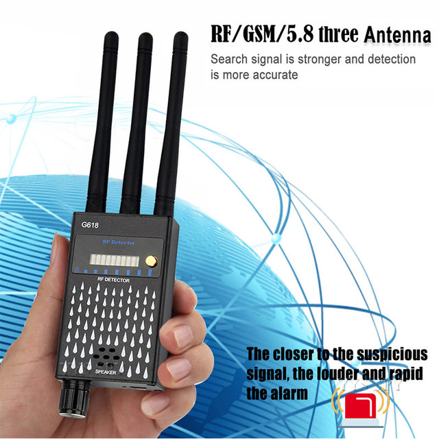 3 Antenna Anti Spy RF CDMA Signal Finder For GSM Bug GPS Tracker  - Quick Delivery in USA 6
