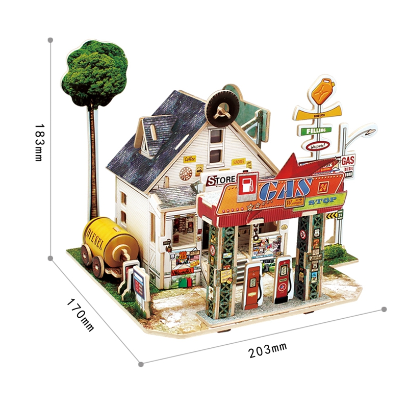 casa estilo global montar modelo kits de