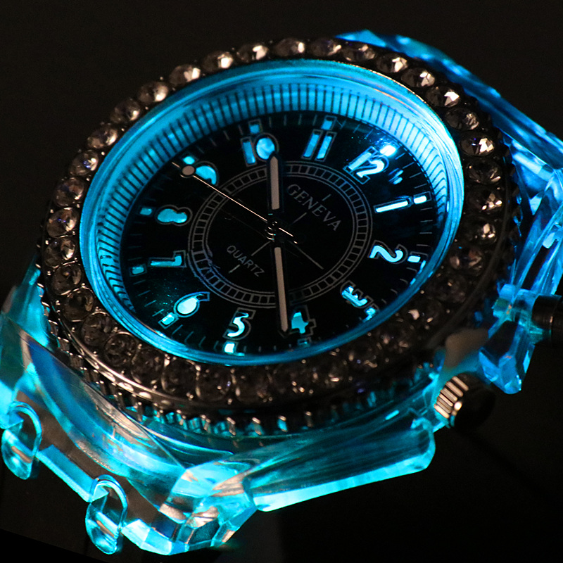 LED Silicone Watch Women's Men Sport Fashion Ladies Outdoor WristWatch Relogios Masculino Luminous Watches Erkek Kol Saati Reloj