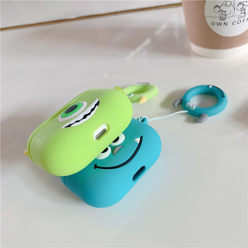 Cute 3D Silicone Case for AirPods Pro 132