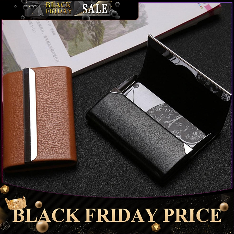 Large Capacity Card Holder For Men Women Business Card Credit Card Storage