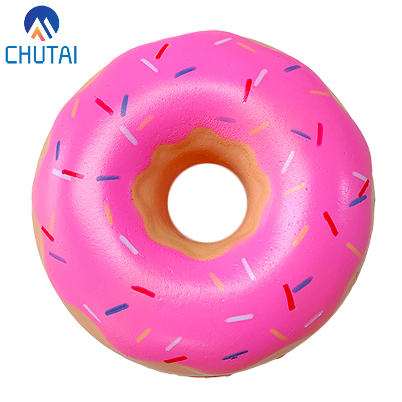 Kawaii Chocolate Donut Squeeze Toys Soft Squishy Slow Rising Simulation Sweet Scented Stress Relief Toy For Kid Baby Xmas Gift