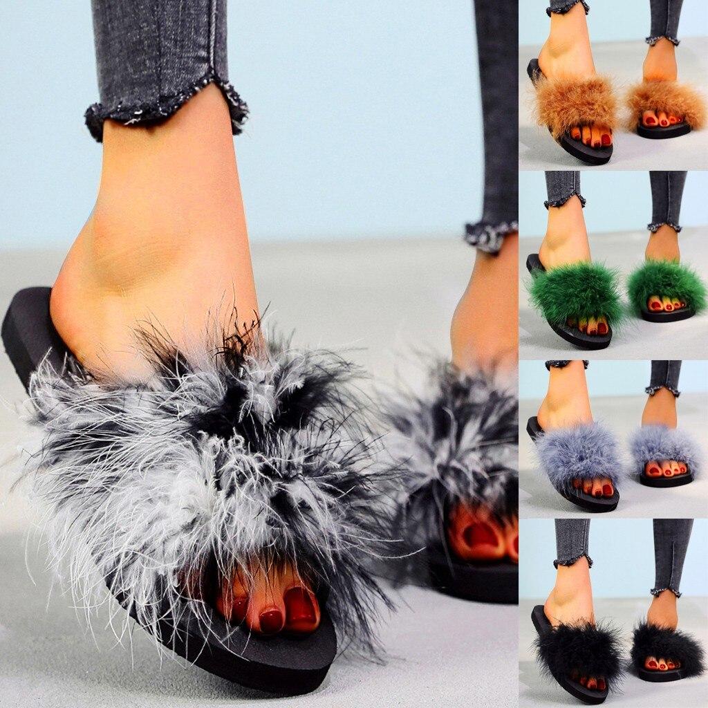 Lunette Womens Memory Foam Flip Flop Slippers,Open Toe Slipper,Plush House Shoes