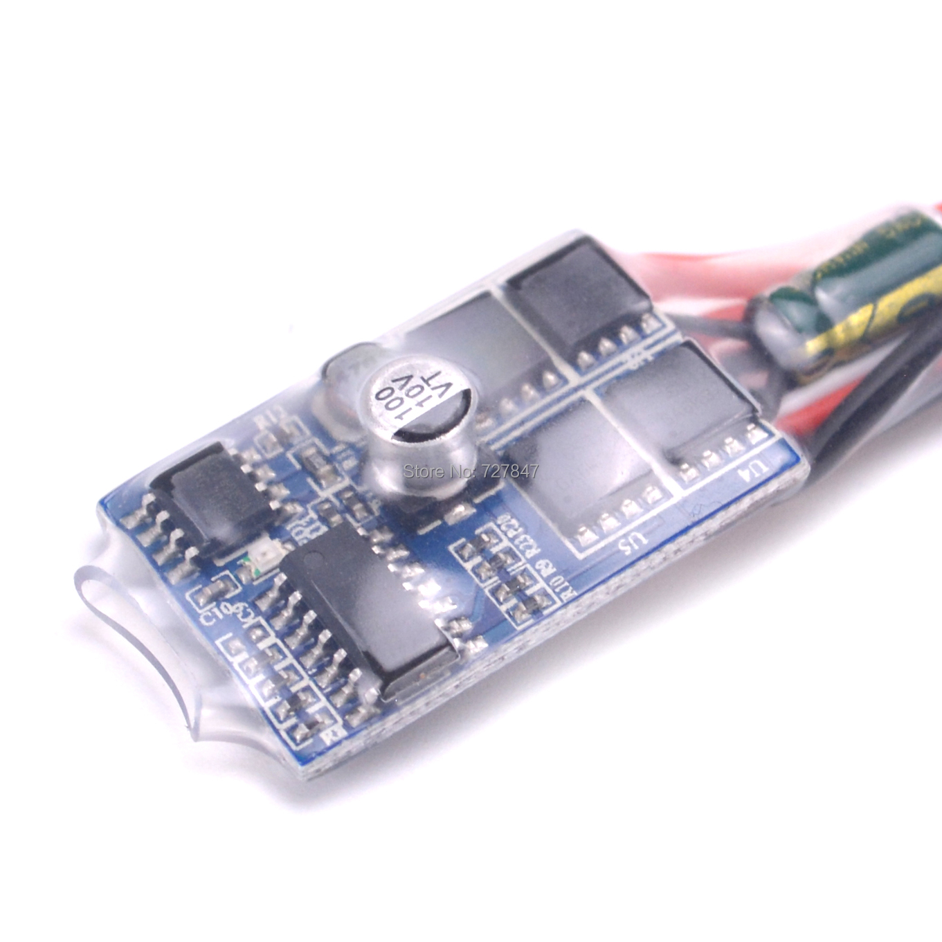 1pcs/2pcs <font><b>30A</b></font> <font><b>ESC</b></font> <font><b>Brushed</b></font> <font><b>ESC</b></font> Motor Electric Speed Controller without / with Brake for DIY Mini RC Car Boat Tank image