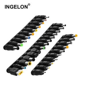 Universal Laptop Tips 34pcs Replacement Adapter All in one Charger connector Jack Sets Plug For Notebook HP Lenovo Dell More(China)