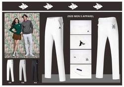 Q2020 new DESCENTE golf mens pants quick-drying summer golf clothing sports mens pants casual pants free shipping
