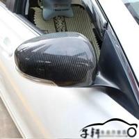 Fibra de carbono espelho retrovisor capa caps guarnição para toyota mark x reiz 2010 2015|rearview mirror cover|carbon fiber mirror cover|carbon mirror cover -