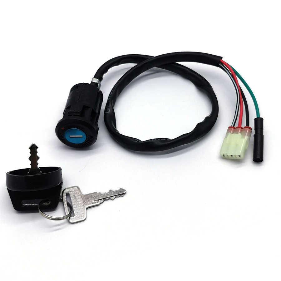 Ключ зажигания мотоцикла переключатель для Honda TRX400EX TRX400EX Sportrax 400 1999-2004