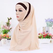 Модный мусульманский хиджаб в стиле instand шарф для женщин