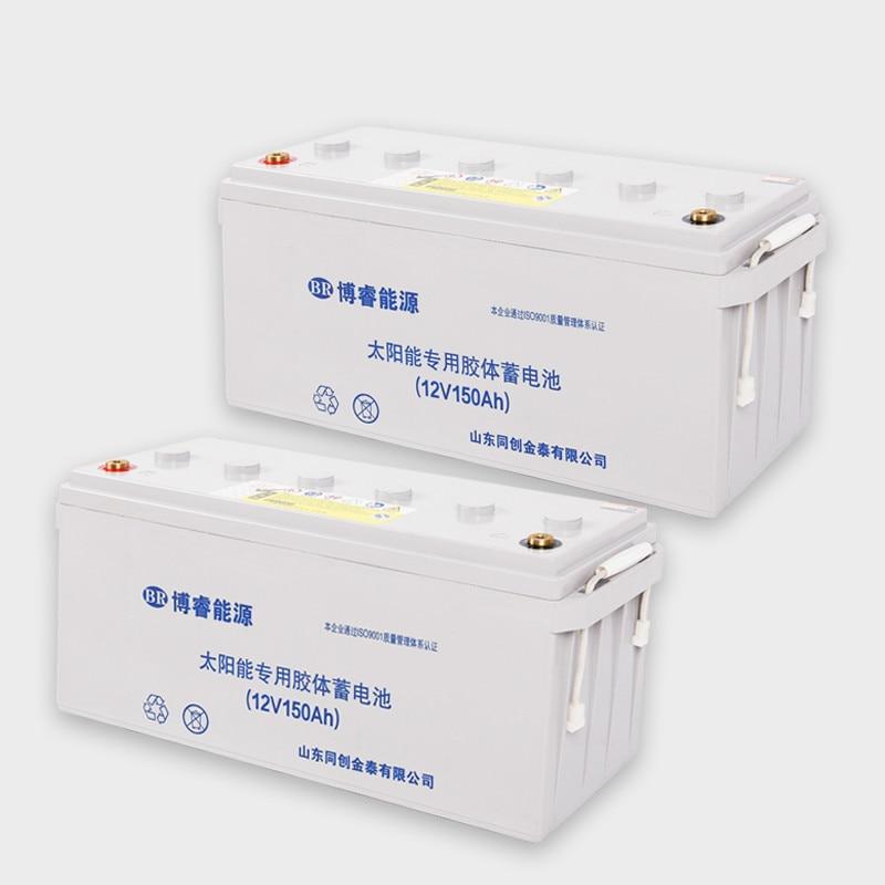 bateria solar do gel 12v100ah rv bateria 12v120 lampada de rua fotovoltaica geracao energia casa 200ah