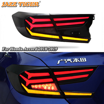 Rear Running Lamp + Brake + Reverse + Dynamic Turn Signal Light Car LED Tail Light Taillight For Honda Accord 2018 2019 2020  - buy with discount