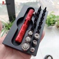 Ruipai relógio ferramenta para parafuso no empurrador caso tubos apto para rlx omega breitling movimento|Kits e ferramentas de reparo| |  -