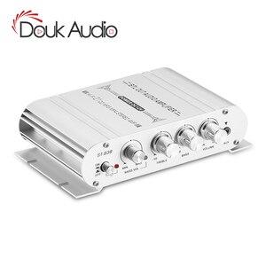 Image 1 - مضخم صوت Douk Audio Mini بـ 2.1 قناة, مضخم صوت ستيريو ، مضخم صوت للمنزل/السيارة/مكبر الصوت البحري لمكبرات الصوت