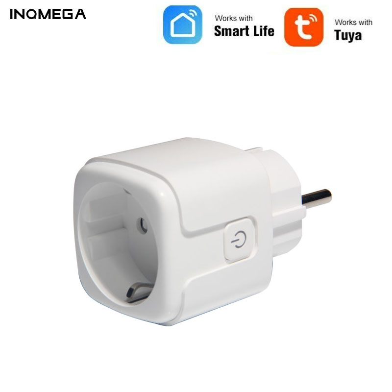 Wifi TUYA Mart Socket APP Control On/Off Timing Switch Plug For Smart Life Intelligent Delicate Compact Portable Safety Home