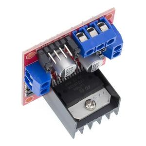 Image 4 - Free Shipping 50pcs/lot L298N motor driver board module L298 for   stepper motor smart car robot