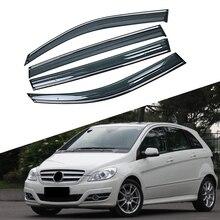 Для Mercedes-Benz B-Class 2005-2011 W245 автомобильное окно Защита от солнца и дождя козырьки щиток Защитная крышка Накладка рамка наклейка