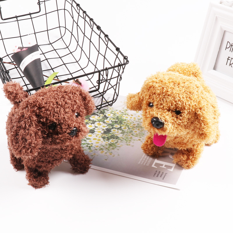 Cross Border Hot Sales Electric Forward Dao Tui Gou Hairy Solid Color Tongue Cute Strange New Plush Toys Wholesale