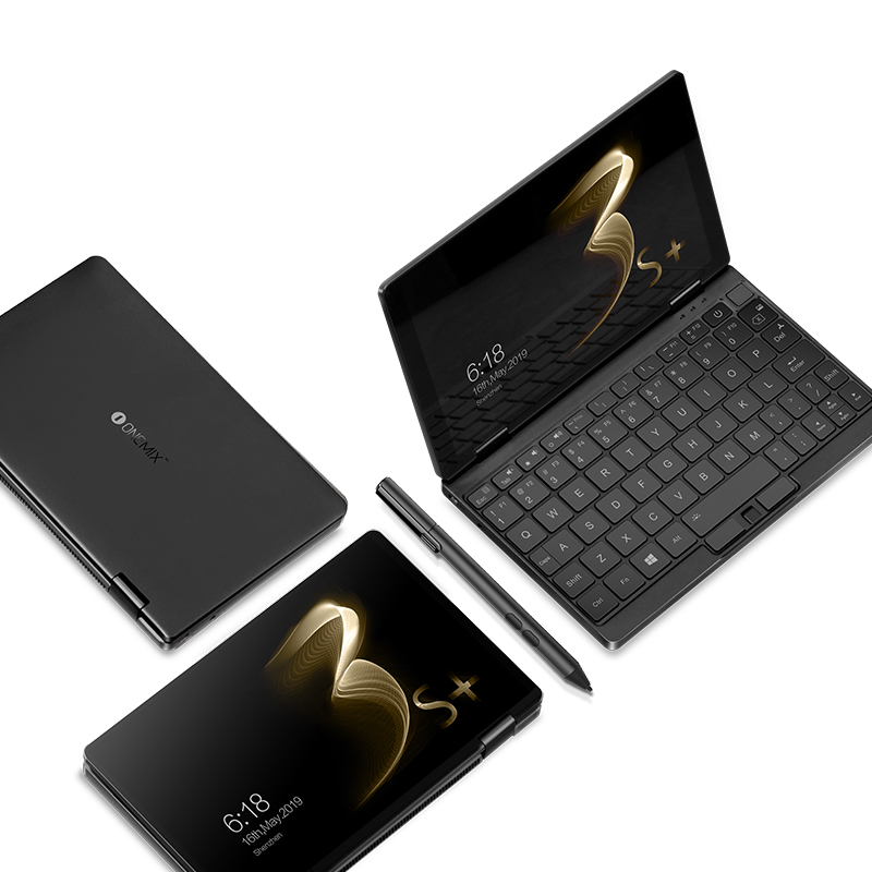 2020 8600mAH Laptop One Netbook OneMix 3S + Plus Notebook 8.4'' Win10 Intel i3 8GB RAM 256GB SSD With Original Stylus Pen Type-C