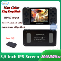 NEW version HDMI output Retro game RG350M Video games Upgrade game console ps1 game 64bit opendingux 3.5 inch Child gift