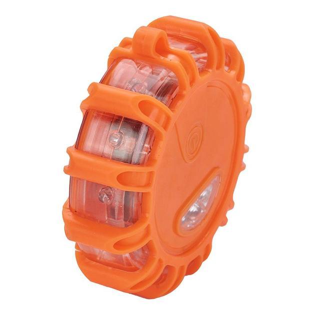 4 sztuk/zestaw akumulator magnetyczny LED sygnalizator optyczny awaryjne ratownictwo drogowe bezpieczeństwa migające oświetlenie samochodu lampy drogowe Beacon