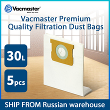 Vacmaster Filtration Dust Bags for Vacuum Cleaner 30L Dust Bags Vacuum Cleaner Accessories 5PCS/Lot