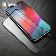 ESVNE Fiber Tempered Glass For iphone X XR XS MAX Screen Protector 6 6S 7 8 Plus Protection