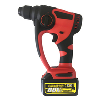 20V Lithium Battery Rotary Hammer Drill Brushless Cordless Hammer Electric Drill Screwdriver Power Tools