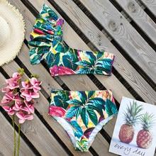 2021 Sexy maillots de bain femmes maillot de bain Push Up Biquini brésilien Bikini ensemble été plage vêtements imprimer maillot de bain femme