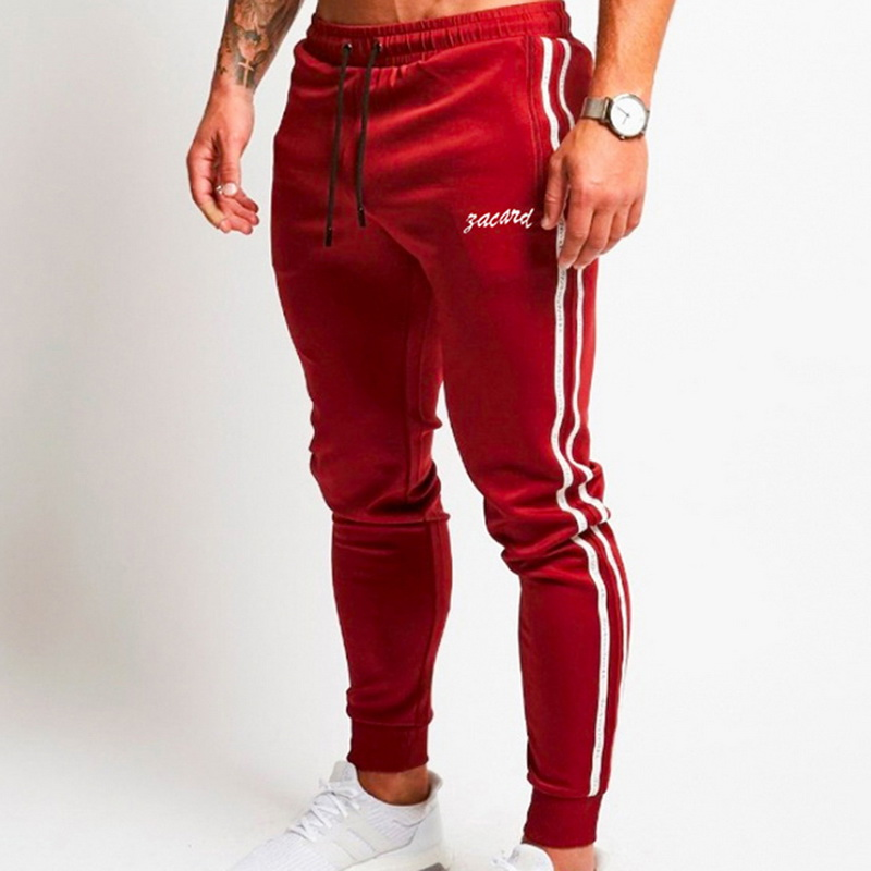 Men Sweatpants Brand Joggers Pant 2019 Male Casual Cotton Hip Pop Letter Print Trousers Tracksuit Bottoms Pants