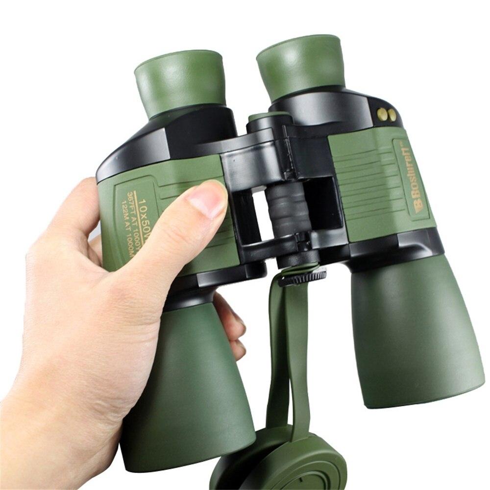 Tools : Boshiren 10X50 WA Auto Focus Binocular High Power HD FMC Telescope LLL Night Vision with Light and Coordinate Spotting Scope New