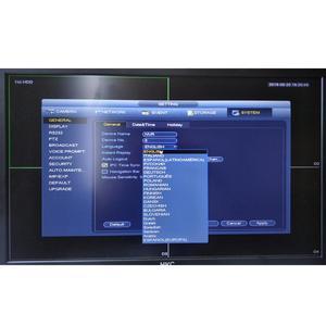 Image 2 - 大華nvr英語版4 18k NVR5208 4KS2 8チャンネルネットワークビデオレコーダーH265 /H264多言語8CH dvr