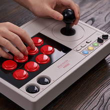 8Bitdo-Joystick Arcade Ultimate Software Turbo Bluetooth, 2,4G y conectividad con cable para Switch & Windows