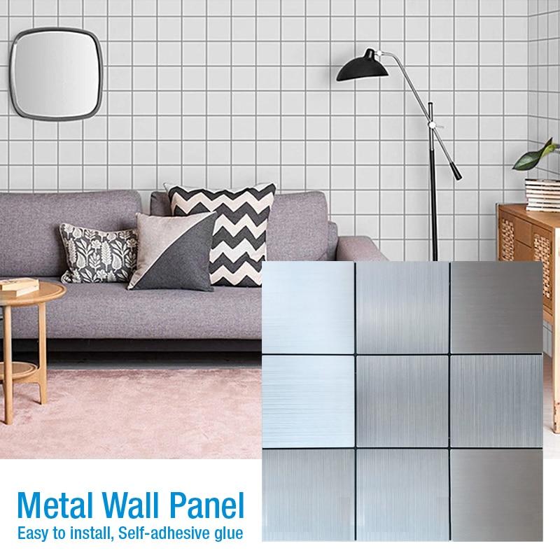 Self Adhesive Metal Mosaic Wall