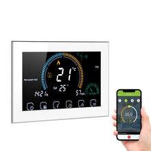 Termostato WiFi programable con Control por voz, termorregulador de calefacción de agua Compatible con Amazon Echo, Google y Tmall, 95-240V