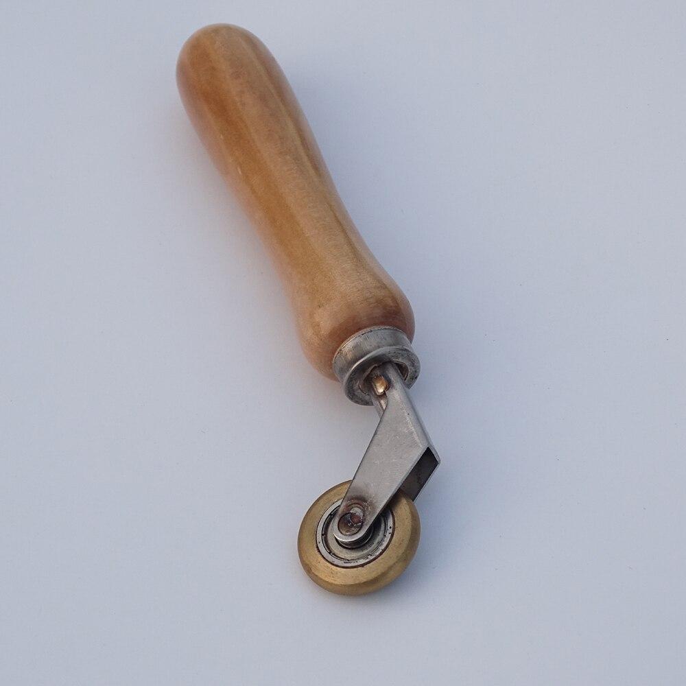 6mm Brass Penny Roller With Ball Bearing Plastic Hot Air Plastic Welder Gun Tool Welding Soldering Supplies Welding Nozzles