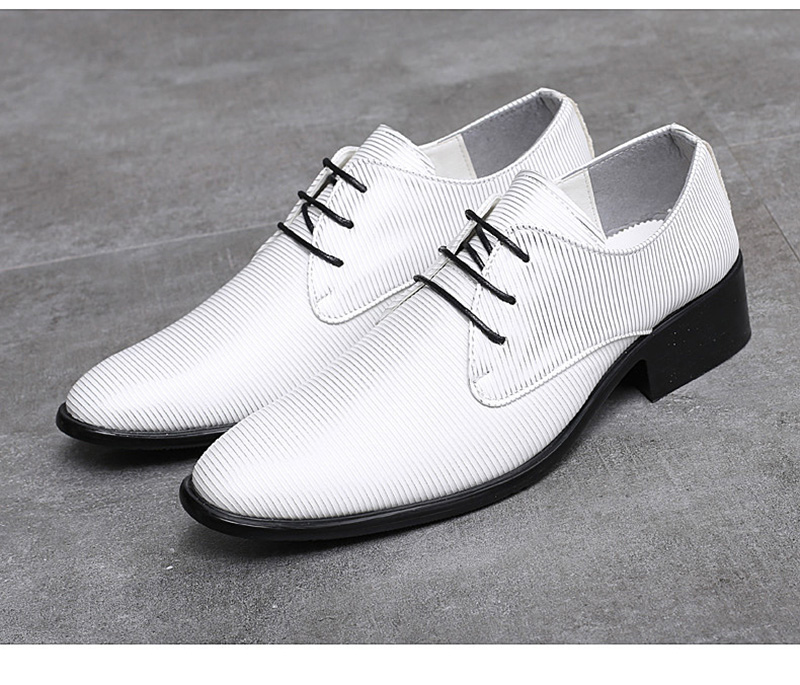 Height Increasing Lace up Oxfords Casual Dress Shoes