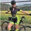 Macacão de verão feminino, roupa de ciclismo, equipe ciclopp, uniforme de bicicleta, triathlon, terno para corrida, kit de roupa de praia 11